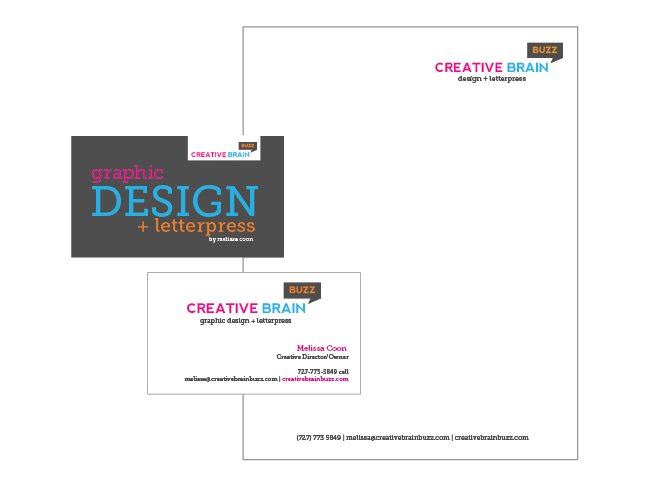 Creative Brain Buzz Logo