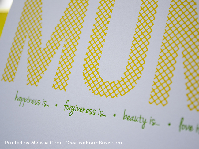CreativeBrainBuzz.com Mother's Day Card Designed by Melissa Coon